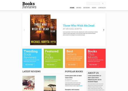 Book Reviews Responsive