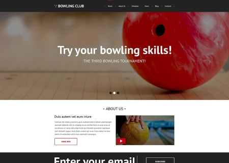 Bowling Responsive