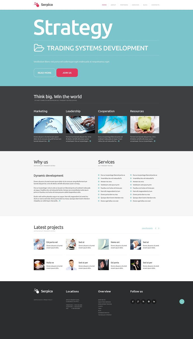 Business WordPress Theme New Screenshots BIG