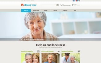 Elderly Care Joomla Template