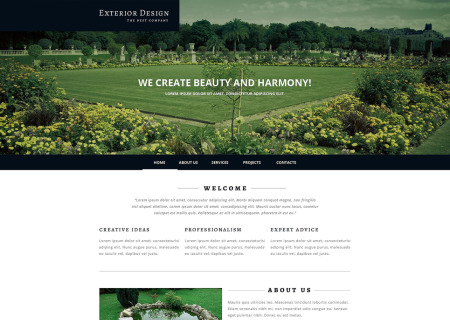 Exterior Design Responsive