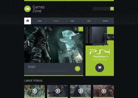 Game Portal Responsive