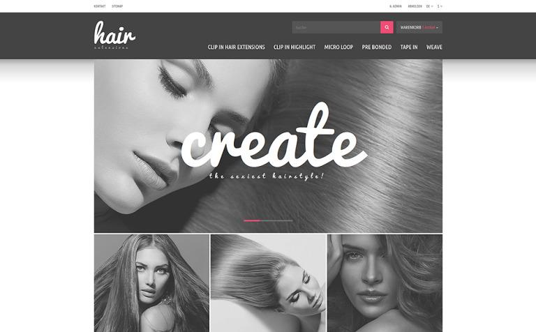 Hair extensions store prestashop theme 51837 hair extensions store prestashop theme new screenshots big pmusecretfo Choice Image