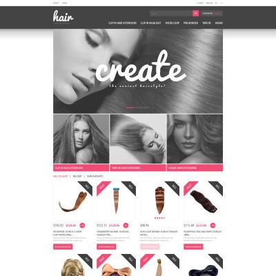 Hair extensions store prestashop theme 45167 pmusecretfo Choice Image