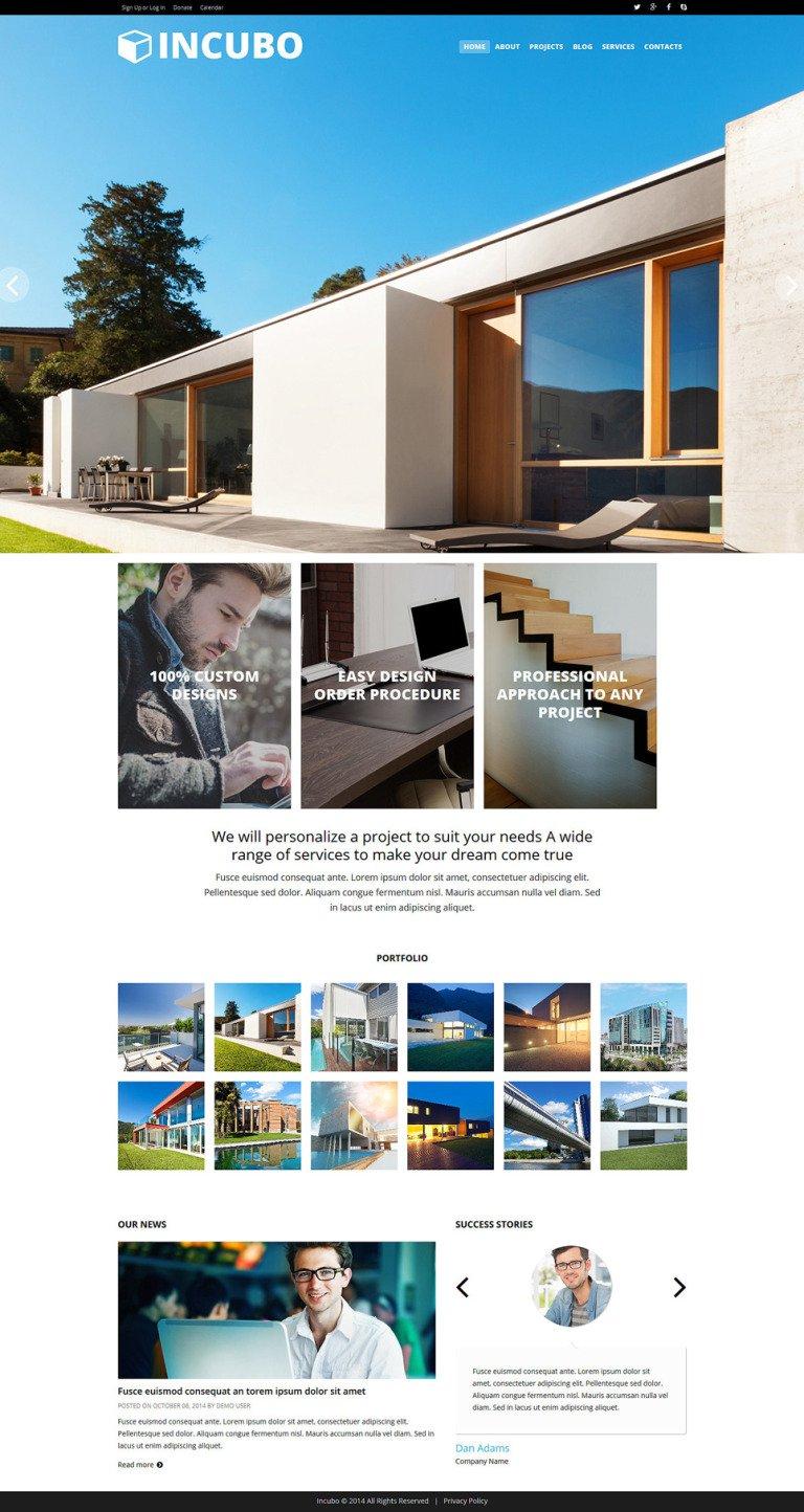 Modern Design Board Joomla Template New Screenshots BIG