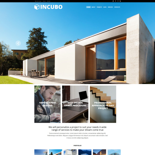 Incubo - Joomla! Template based on Bootstrap