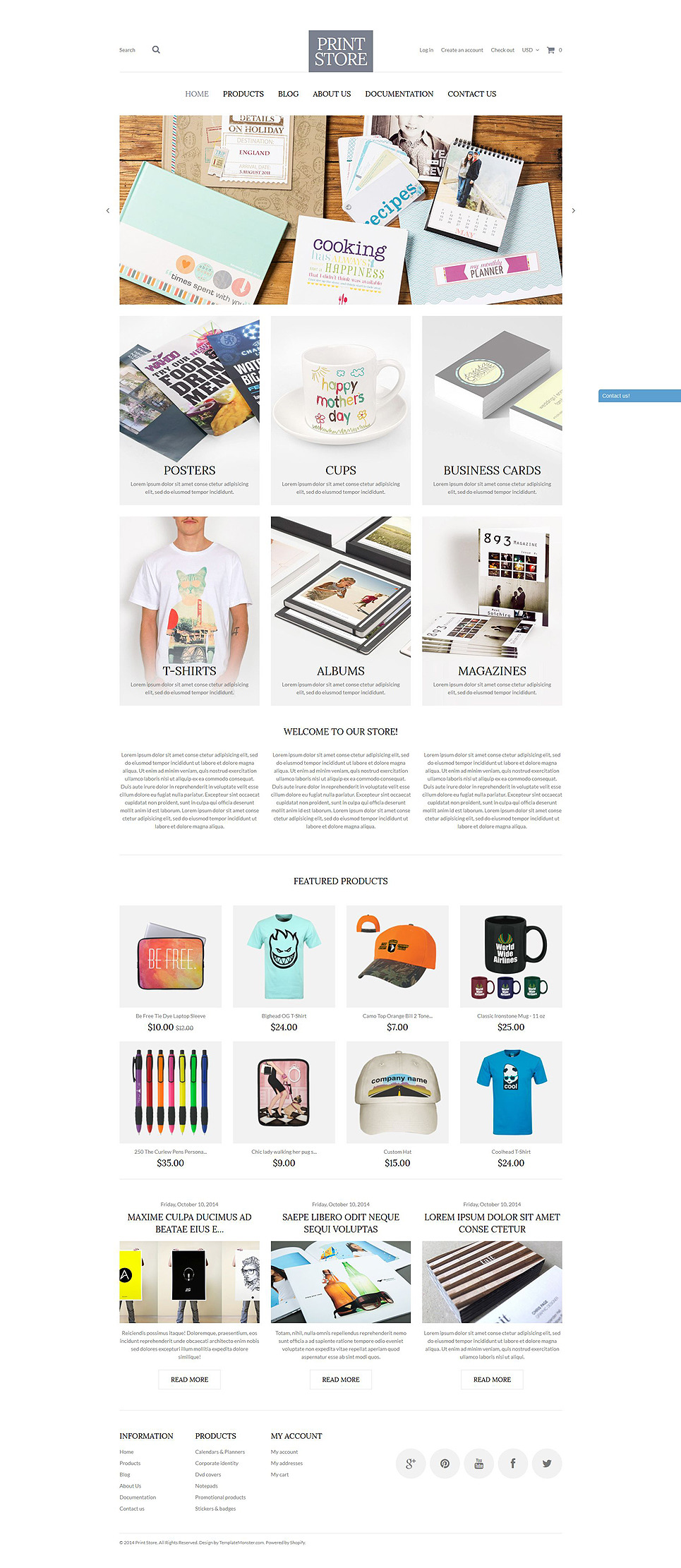 Modern Print Solutions Shopify Theme New Screenshots BIG