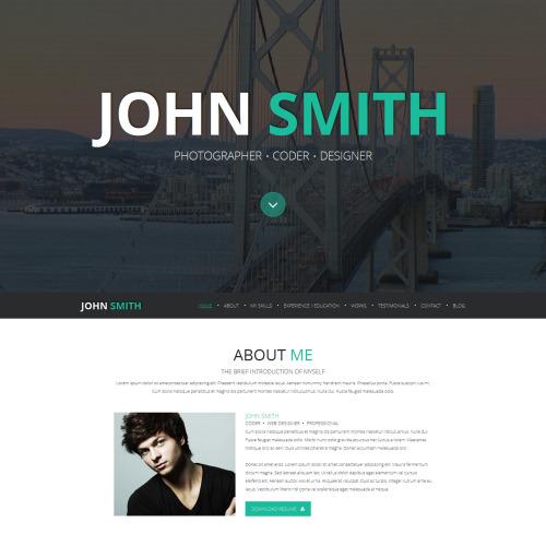 John Smith - Responsive Joomla! Template