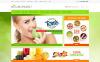 """OpenCart Vorlage namens """"Gesundheit Sporternährung"""" New Screenshots BIG"""