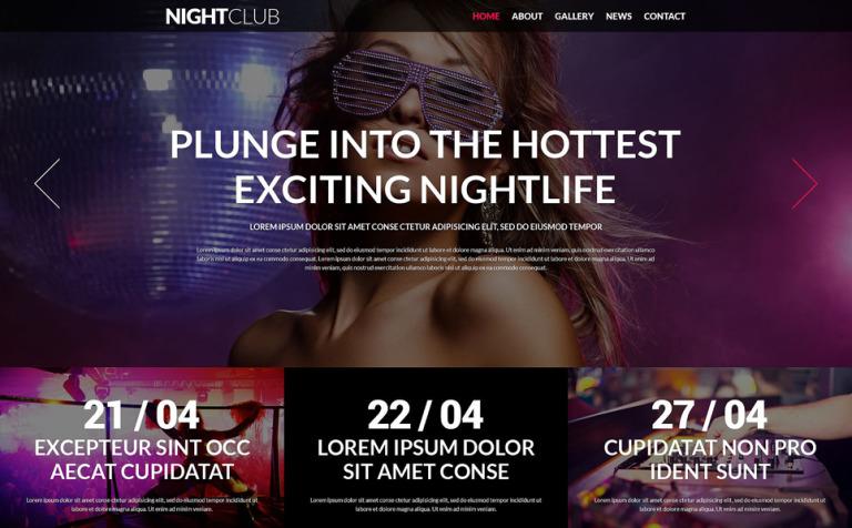 Party Animals Nightclub Joomla Template
