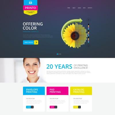 17 best print shop website templates