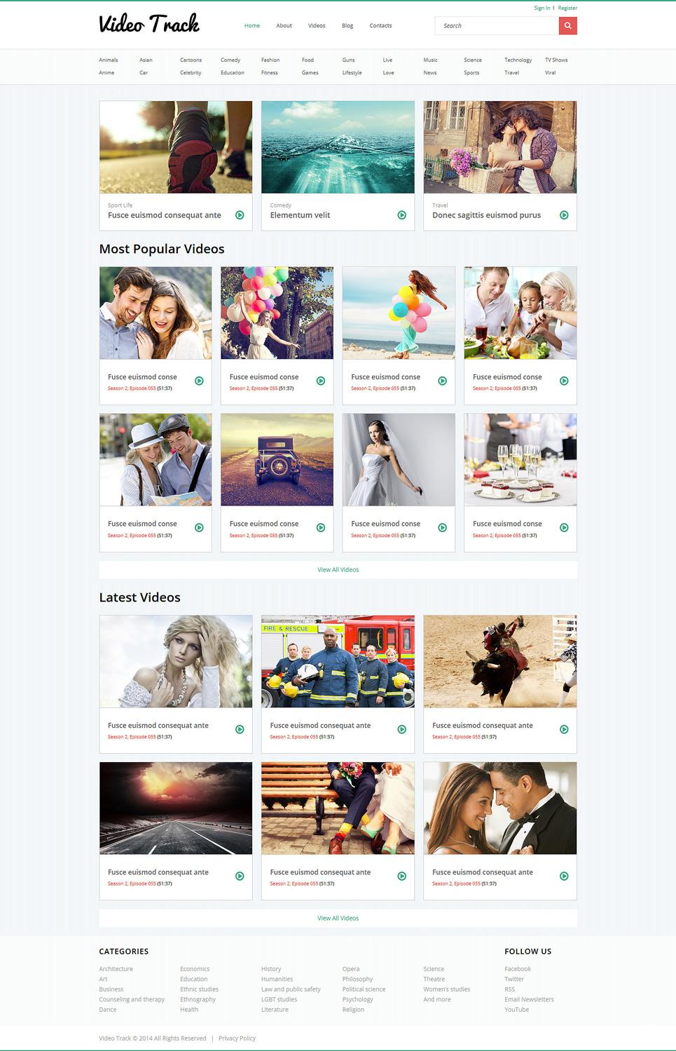 Nett Video Galerie Website Vorlage Ideen - Beispiel Anschreiben für ...