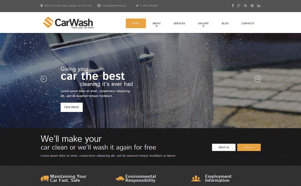 Responsive WordPress thema over Wasstraat  New Screenshots BIG