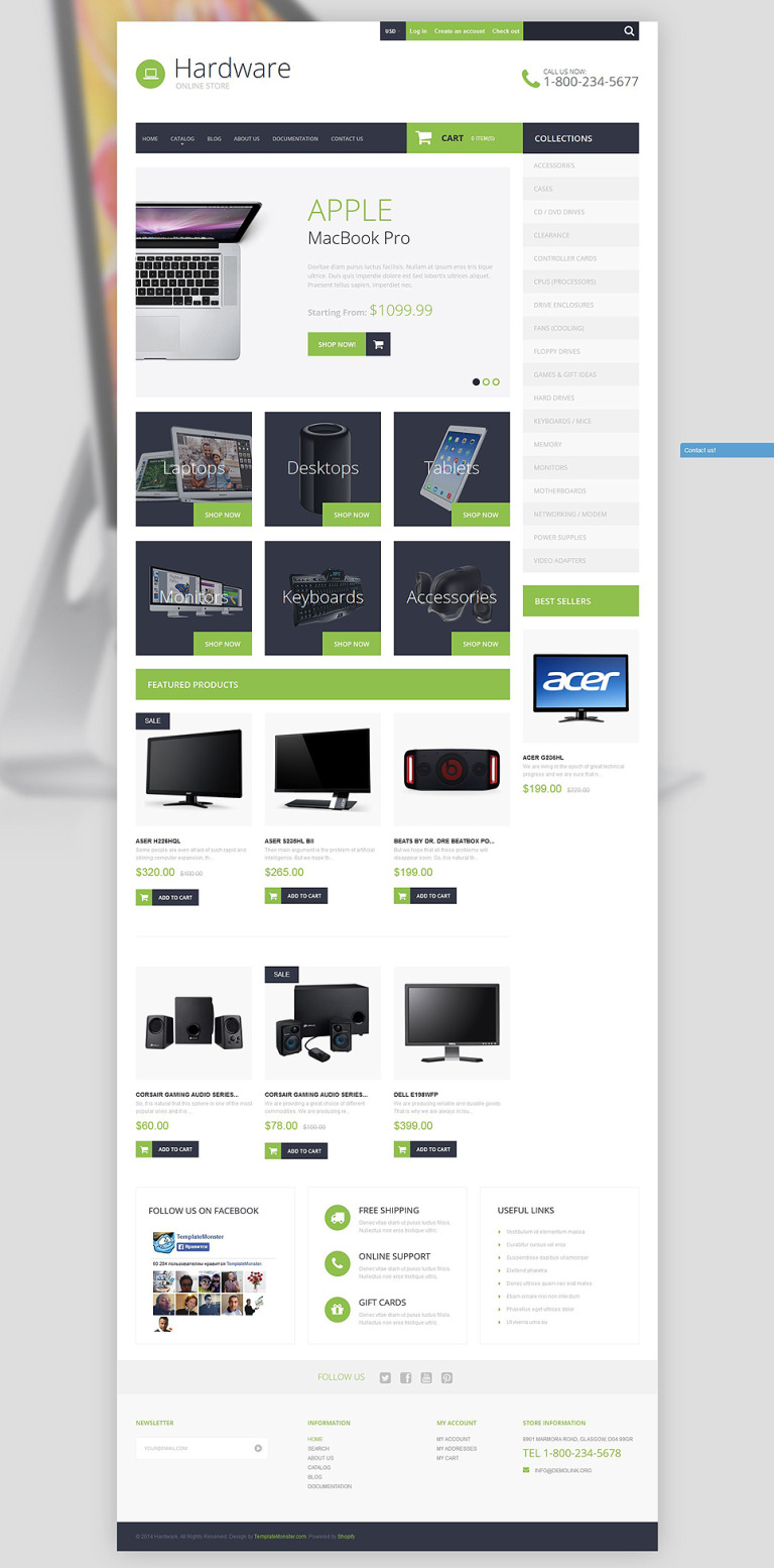 Smart Hardware Shopify Theme New Screenshots BIG
