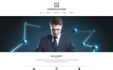 """Telecord - Consulting Multipage Creative HTML"" modèle web adaptatif"