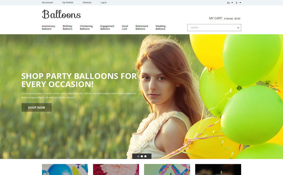 Tema Magento Flexível para Sites de Entretenimento №51832 New Screenshots BIG
