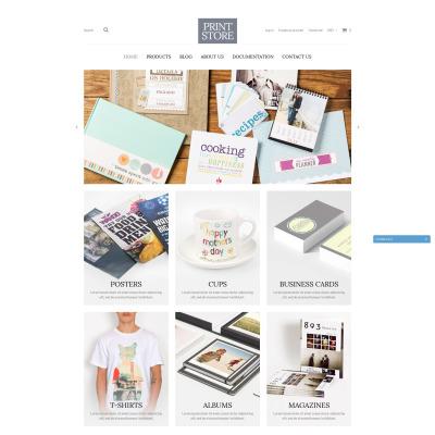 Responsive Tema Shopify #51869 para Sitio de  para Tienda de Impresión