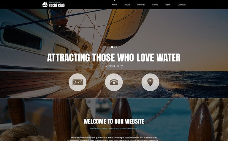 Yachting club joomla template 51835 yachting club joomla template new screenshots big toneelgroepblik Image collections