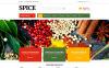 ZenCart шаблон №51820 на тему магазин специй New Screenshots BIG