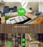 Furniture Website  Template 51901