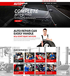 Cars WordPress Template 51907