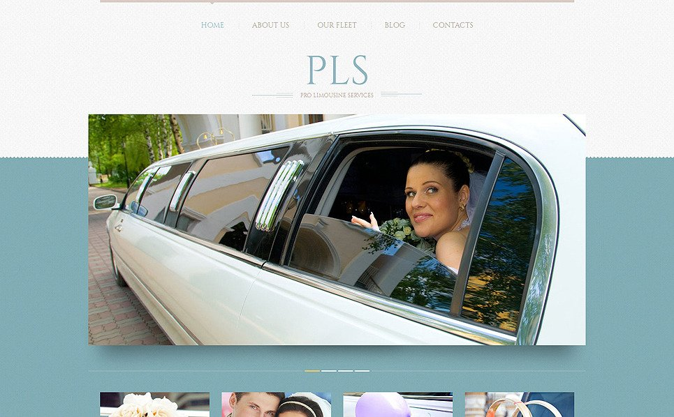 Responsive WordPress thema over Limousine Service  New Screenshots BIG