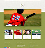 Sport WordPress Template 51910