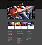 Music WordPress Template 51911