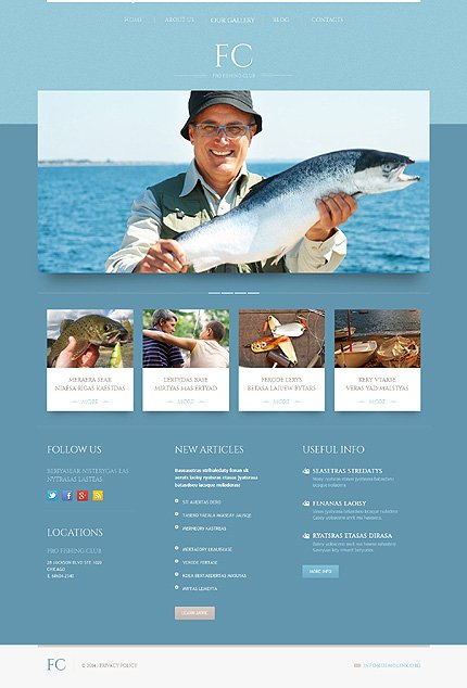 WordPress Theme/Template 51912 Main Page Screenshot