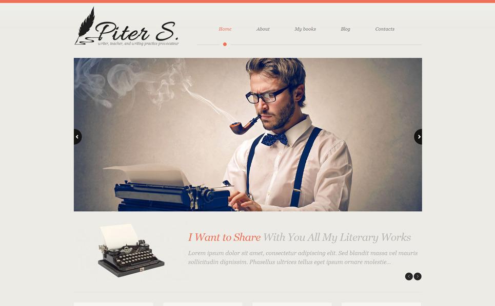 Reszponzív Személyes honlapok WordPress sablon New Screenshots BIG