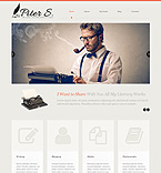 Personal Page WordPress Template 51913