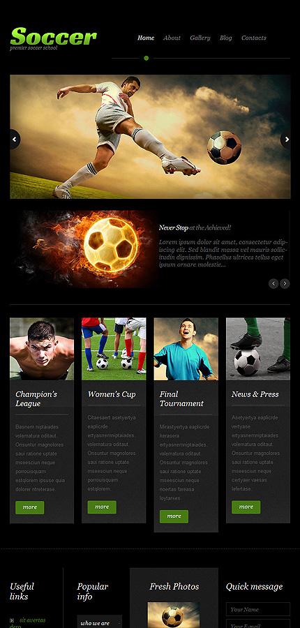 WordPress Theme/Template 51914 Main Page Screenshot
