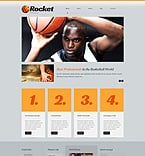 Sport WordPress Template 51915