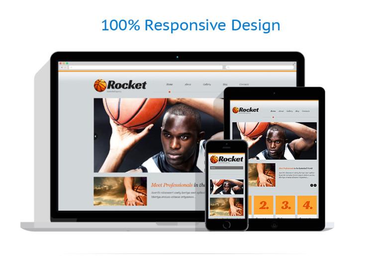 Tema de WordPress #51915 para Sitio de Baloncesto