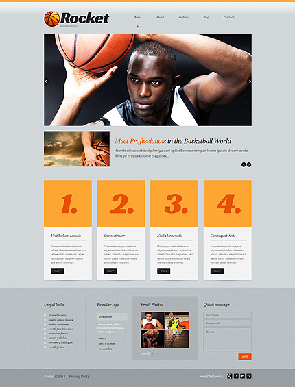 WordPress Theme/Template 51915 Main Page Screenshot