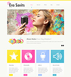 Personal Page WordPress Template 51916