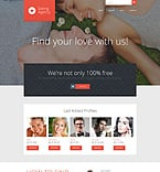 Dating WordPress Template 51917