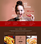 Cafe & Restaurant WordPress Template 51918