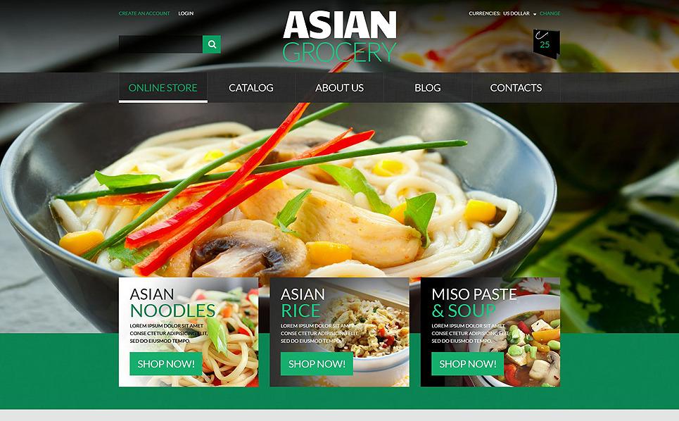 Template VirtueMart Flexível para Sites de Míni mercado №51919 New Screenshots BIG