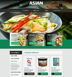 Food & Drink VirtueMart  Template 51919