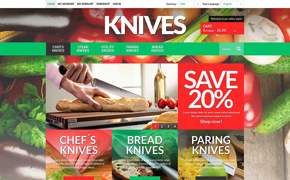 Responsive Magento Thema over Housewares New Screenshots BIG