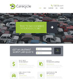 Cars Website  Template 51925
