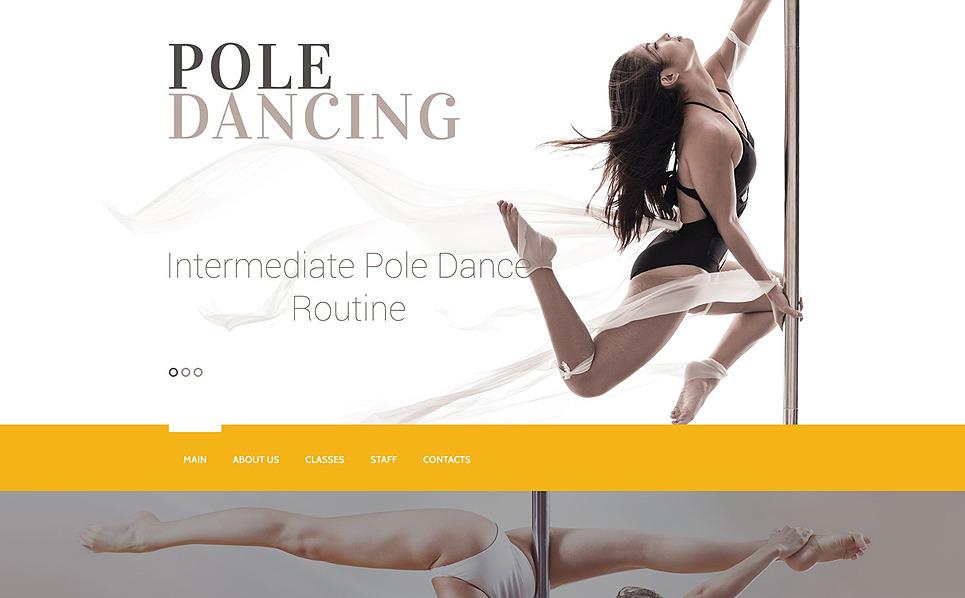 Responsive Website Vorlage für Tanzstudio  New Screenshots BIG