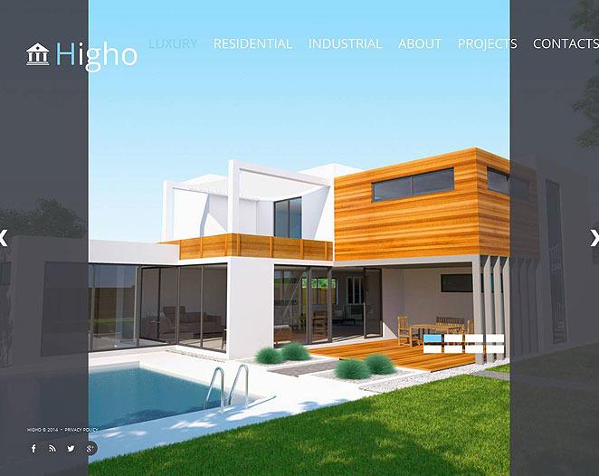 Template Moto CMS HTML para Sites de Empresa de Construção Civil №51933 New Screenshots BIG