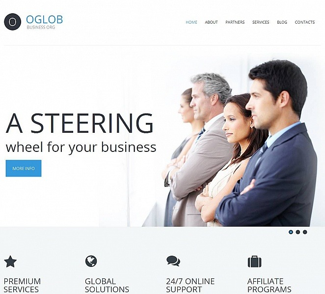 MotoCMS HTML шаблон №51935 на тему Бизнес и услуги New Screenshots BIG