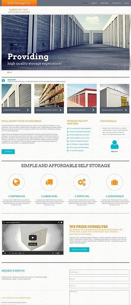 ADOBE Photoshop Template 51937 Home Page Screenshot