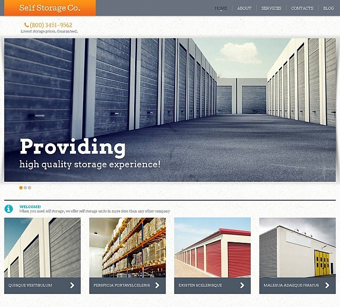 MotoCMS HTML шаблон на тему офіс New Screenshots BIG