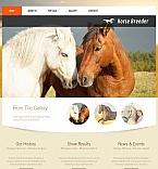 Animals & Pets Moto CMS HTML  Template 51941