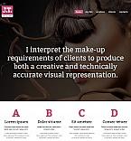 Beauty Moto CMS HTML  Template 51942