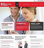 Real Estate Moto CMS HTML  Template 51946